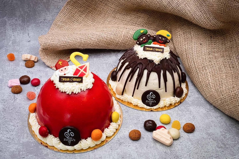 Met heel veel trots presenteren wij onze ijstaarten! Vanaf vandaag staat onze webshop live! Hier bestel je Sinterklaas ijstaarten, ijstaarten voor de Kerst maar ook oliebollen voor Oud & Nieuw  Neem een kijkje op zuliani-gelato.nl/webshopOnze IJsbereidster Angelina Zuliani heeft prachtige ijscreaties ontwikkeld de afgelopen maanden. Voor Sinterklaas heeft Zuliani's twee ijstaarten om uit te kiezen!  Deze zijn online te bestellen t/m 30 november. Haal jouw ijstaart in huis op zaterdag 5 december om er met het gezin een gezellig feest van te maken!
