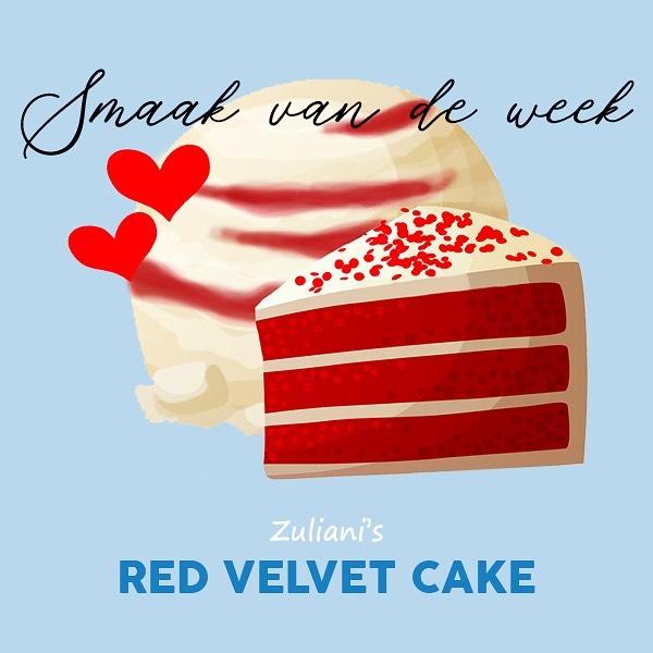 ❣️ Romantisch op de bank, thuis met een bak van het lekkerste ijs genieten, samen op Valentijn? Zuliani's komt het vers bij jullie brengen dit weekend! De Smaak van de Week is 𝓇𝑒𝒹 𝓋𝑒𝓁𝓋𝑒𝓉 𝒸𝒶𝓀𝑒 ️, speciaal voor Valentijn en dus alleen deze week te bestellen! zuliani-gelato.nl/thuisbezorgd #linkinbio
