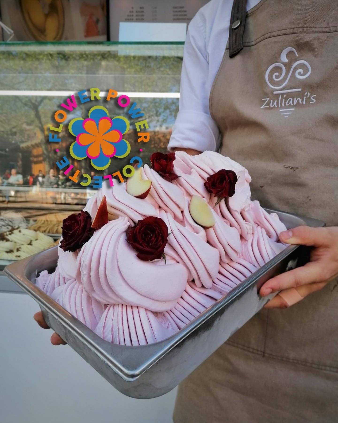 Nieuw - De 𝑭𝒍𝒐𝒘𝒆𝒓 𝑷𝒐𝒘𝒆𝒓 𝑪𝒐𝒍𝒍𝒆𝒄𝒕𝒊𝒆 van Zuliani's!  Deze zomer gaan wij jullie verassen met fleurige nieuwe smaken!Om te beginnen trappen we af met de bijzondere smaak Roos-Witte perzik. De heerlijke rozen smaak en het zachte fruit van de witte perzik zijn een romantische match!Combineer jouw favoriete smaak met één van de bijzondere Flower Power smaken deze zomer! Wij horen graag wat jullie ervan vinden